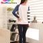 เสื้อคู่ เสื้อคู่รัก ชุดพรีเวดดิ้ง ชุดคู่รัก เสื้อคู่รักเกาหลี เสื้อผ้าแฟชั่น ผู้ชาย + ผู้หญิง เสื้อแขนยาวสีขาว ตัดด้วยแขนเสื้อลายฟ้าขาว ผลิตจากผ้าฝ้าย เนื้อนิ่ม หนา ใส่ สบาย งานจริงสวยๆมากค่ะ thumbnail 24