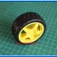 1x Plastic Smart Robot Car Wheel (ล้อรถ) thumbnail 3