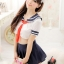 พร้อมส่ง / ชุดคอสเพลย์ นักเรียนญี่ปุ่น แบบเซ็กซี่ เสื้อ + กระโปรง ไม่มีจีสตริง thumbnail 1