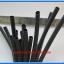 1x Heat Shrink Tube 6.0mm Black Color Length 1 meter 3M Brand (ท่อหด 6.0มม ยี่ห้อ 3M) thumbnail 2