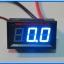 1x Digital Panel DC Ammeter 0-20 Amp Blue Color module thumbnail 4