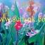 ภาพวาดดอกพุทธรักษา(ขายไปแล้วรับสั่งใหม่) thumbnail 1