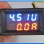 1x Digital DC Voltmeter Ammeter (DC 0-30V, 0-50Amp Blue Red ) module + R-Shunt thumbnail 5