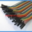 1x Jumper (F2F) cable wire 40pcs 2.54mm 20cm Female to Female thumbnail 3