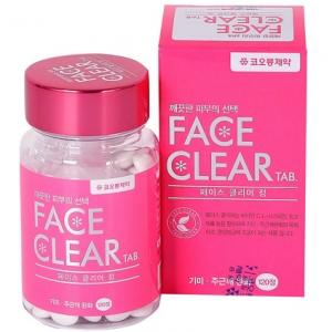 Face Clear Tab เฟสเคลียร์ วิตามินเคลียร์ผิวขาว เผยผิวขาวใส