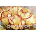 ภาพวาดดอกไม้ Canvas 50x70 cm.