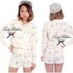 LRS553-893-793 Lady Daisy, Outer with Shorts Set