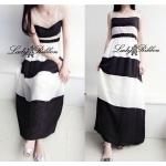 Charming Stripe Maxi Korea