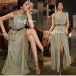 Lady Ribbon's Made Lady Classy & Fabulous Vintage Two Tone Maxi Korea