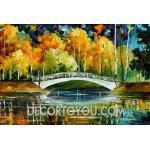 ภาพวาดวิว Canvas 80x110 cm.
