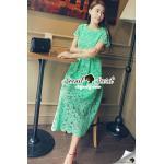 Seoul Secret Say's... Luxy Princess Lace Maxi Dress