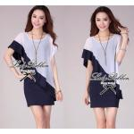 Lady Eve Smart Minimal Chic Mini Dress