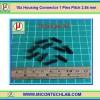 10x Housing Connector 1 Pins Pitch 2.54 mm (คอนเน็คเตอร์แบบ 1 ขา)