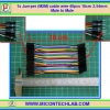 1x Jumper (M2M) cable wire 40pcs 10cm 2.54mm Male to Male
