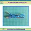 1x USB Cable Wire Length 45 cm