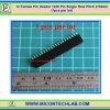 1x Female Pin Header 1x20 Pin Single Row Pitch 2.54mm (1pcs per lot)