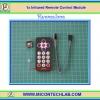 1x Infrared Remote Control Module (โมดูลรีโมทคอนโทรล)