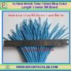 1x Heat Shrink Tube 1.0mm Blue Color Length 1 meter 3M Brand (ท่อหด 1.0มม ยี่ห้อ 3M)
