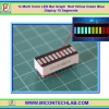 1x Multi Color LED Bar Graph Red Yellow Green Blue Display 10 Segments
