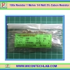 100x Resistor 1 Mohm 1/4 Watt 5% Cabon Resistor