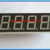 1x LED 7 SEGMENT 4 DIGIT RED Color Common Cathode 0.56 inch
