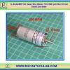 1x ZGA25RP DC Gear Box Motor 12V 500 rpm Dia 25 mm Shaft Dia 4mm