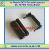 1x Female IDC16 SOCKET CONNECTOR 16 (2x8) PINS Pitch 2.54mm