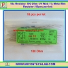 10x Resistor 100 Ohm 1/4 Watt 1% Metal film Resistor (10pcs per lot)