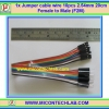 1x Jumper (F2M) cable wire 10pcs 2.54mm 20cm Female to Male