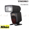 Speedlight Flash Yongnuo YN568EX for Nikon i TTL GN58 (Hi Speed Sync)