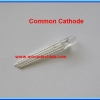 1x LED Tri-Color RED GREEN BLUE (RGB color) Common Cathode