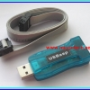 1x USBASP ATMEL AVR Arduino Programmer module