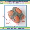 1x Universal Omni directional Robot Wheel Width 29mm OD 40mm 8mm