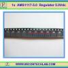 1x AMS1117 -5.0 V Regulator 5.0V 1Amp Compatible LM1117 5.0V IC chip