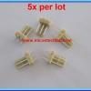 5x WAFER CONNECTOR 3 PINS STRAIGHT PIN 2.54mm (5 pcs per lot)