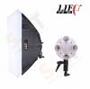 LIFT 4 E27 Holder Bulb with Softbox 50x70cm