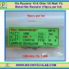 10x Resistor 10 Kohm 1/8 Watt 1% Metal film Resistor (10pcs per lot)
