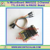 1x MAX3232 2-Channel 3.0-5V TTL to RS232 with Female DB9 Port Module