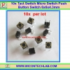 10x Tact Switch 6x6x4.3 mm Micro Switch Push Button Switch