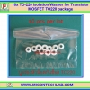 10x TO-220 Isolation Washer for Transistor MOSFET TO220 package