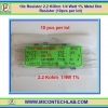 10x Resistor 2.2 KOhm 1/4 Watt 1% Metal film Resistor (10pcs per lot)
