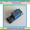 1x Relay 1 channel DC 12V 10A 250VAC module with optocoupler
