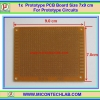 1x Prototype PCB Board Size 7x9 cm For Prototype Circuits