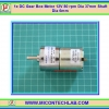 1x DC Gear Box Motor 12V 80 rpm Dia 37mm Shaft Dia 6mm