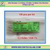 100x Resistor 3.3 Kohm 1/8 Watt 1% Metal film Resistor (100pcs per lot)