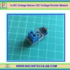1x DC Voltage Sensor 0-25V to 0-5Vdc DC Voltage Divider Module