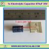 1x Electrolytic Capacitor 470uF 35V (คาปาซิเตอร์)