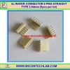 5x WAFER CONNECTOR 6 PINS STRAIGHT TYPE 2.54mm (5pcs per lot)