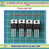 4x IRF9540N P-Channel 100V 23A 140W Power MOSFET IC Chip