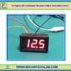 1x Digital DC Voltmeter 0-99.9 Vdc 3 Wires 0.56 Inch Module (Red Color)